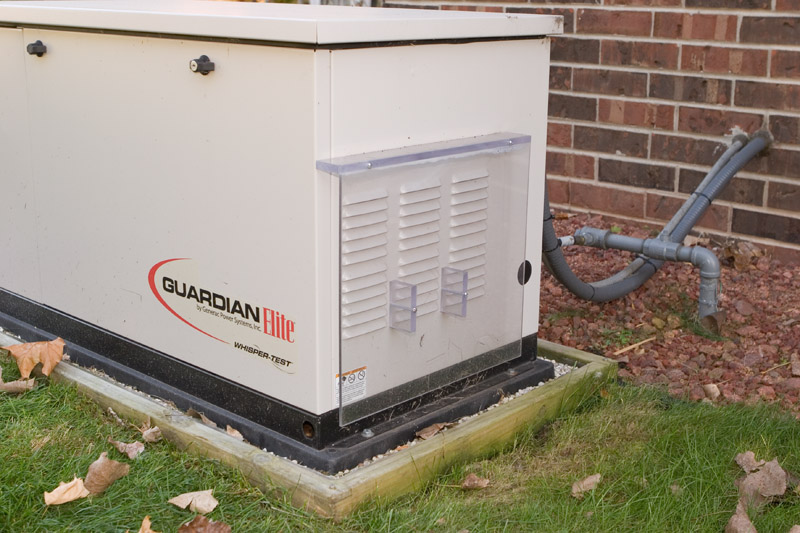 What I did to avoid snow intrusion into my generator - Generac