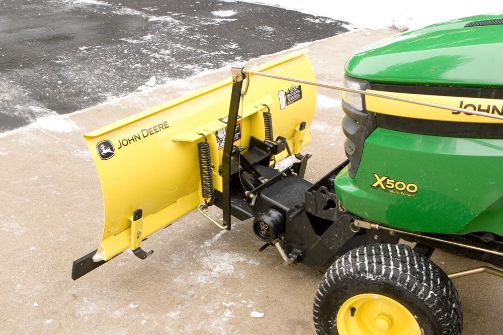 John Deere 1026r Loader Snow Plow : John deere snow blade bing images